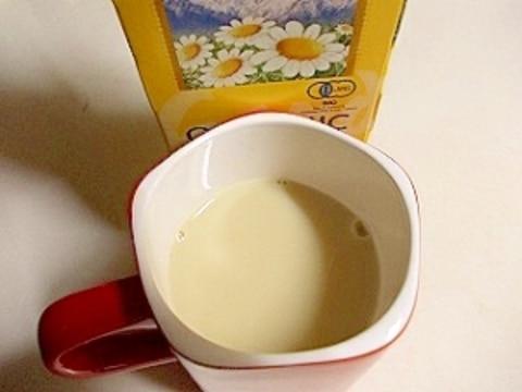 カモミール豆乳ティー