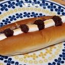 焼きマシュマロとあんこサンドパン