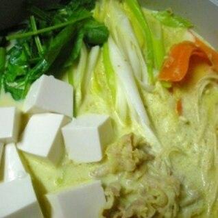 ミルクカレー鍋