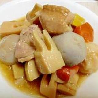 竹の子と里芋の煮物