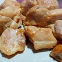 鶏もも肉の塩にんにく焼き