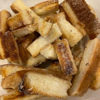 パンの耳で作るバターミルクラスク