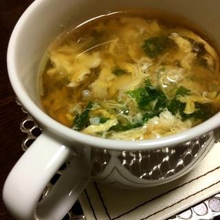 【糖質オフ】簡単たまごスープ☆