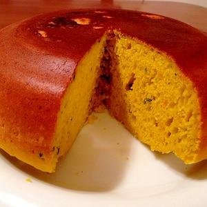 ふんわり仕上がる!炊飯器でかぼちゃのケーキ☆