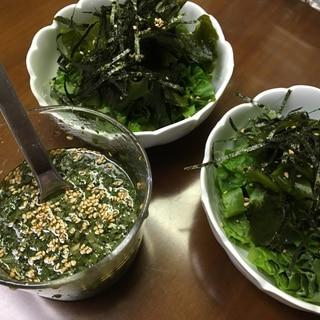 めちゃ美味簡単☆大葉ドレッシング