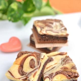 チーズケーキマーブルブラウニー