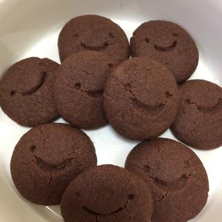 卵、小麦不使用♪米粉のココアクッキー