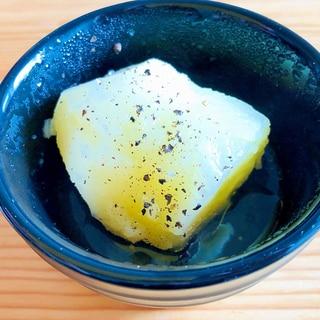 居酒屋メニュー☆ふかし芋オリーブオイルかけ