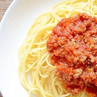 にんにくの旨味たっぷり!スパゲッティミートソース