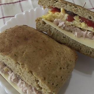 食パンみたいにマルチに使える低糖質おからパン♪