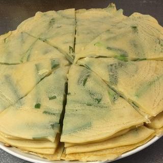 【沖縄料理】我が家のもちもちヒラヤーチー♪