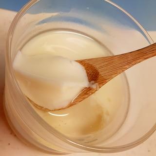簡単!杏仁豆腐風♪(^^)アーモンドミルクプリン♪