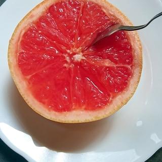 ちょっとひと手間◇◆グレープフルーツの切り方