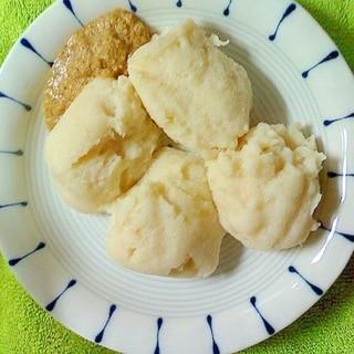 糖質制限:レンチンおから餅、混ぜるだけ( ゚∀゚)