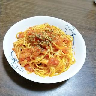 フライパンひとつで!簡単トマトツナパスタ