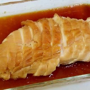 冷凍したままレンジ!鶏むね肉のチャーシュー++