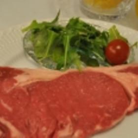 ステーキの焼き方