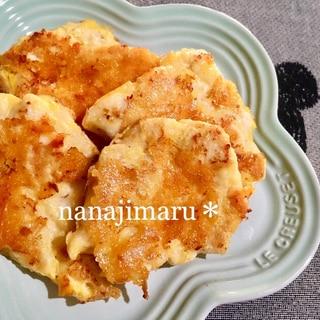 カリカリ☆チーズ(国産)のささみ(九州産)のピカタ