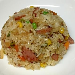 青唐辛子の味噌漬け入り炒飯♪