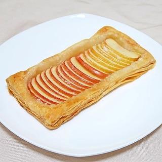 生りんごでアップルパイ☆お手軽に切って焼くだけ