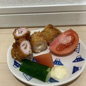 【受験】チーズロールカツ【必勝】