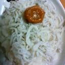 和歌山産のしらす丼