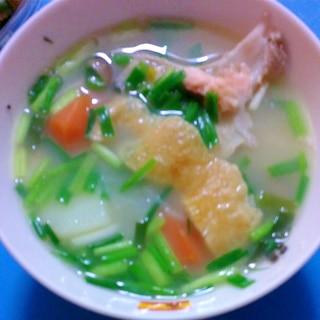 調味料ゼロのヘルシー新巻鮭汁