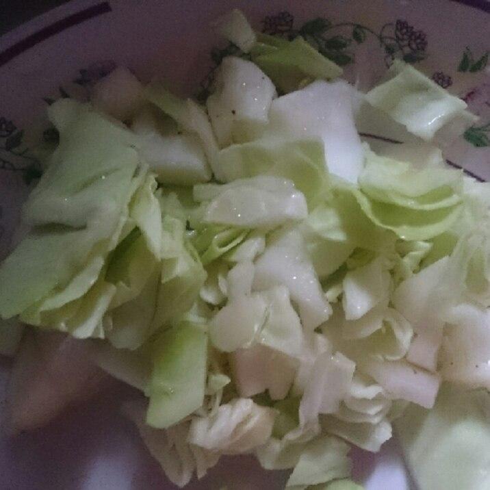 キャベツ好きのシンプルサラダ