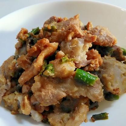 ボリュームおかず☆豚肉と里芋の甘味噌炒め