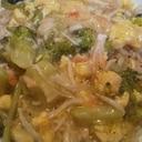 蟹のあんかけご飯 〜ブロッコリーと卵入り〜