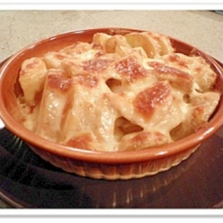 パスタソースでつくる「ポテトのたらこチーズ焼き」