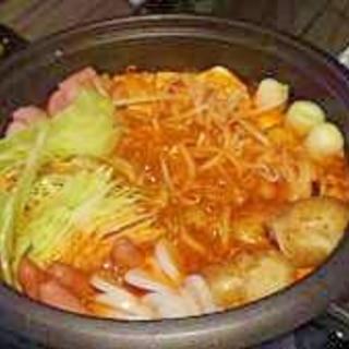 プデチゲ鍋