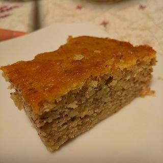 栗甘露煮汁リメイク~バレンタインにアーモンドケーキ