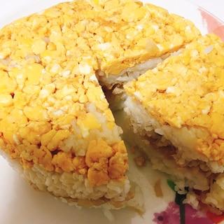 記念日に!簡単ケーキ寿司