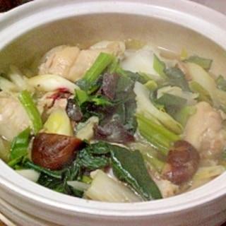 ● 簡単おいしい☆ウェイパーで鶏の中華風鍋 ●