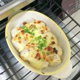 里芋の味噌マヨチーズ焼き