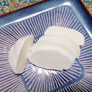 手作りモッツアレラチーズ☆簡単です!