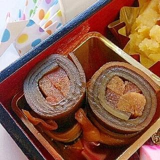 昆布巻き☆圧力鍋~おせち2015~