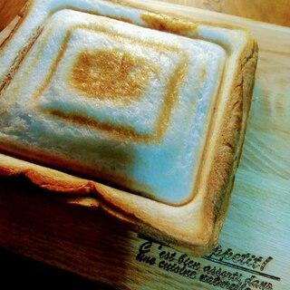 チーズとコロッケ入りホットサンド(北海道産)