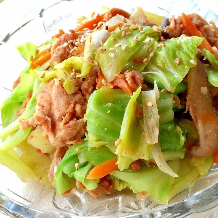 ★豚肉と野菜のコチュジャン炒め★