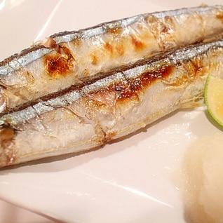 【コツ】下処理で美味しさアップ!秋刀魚の塩焼き