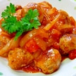 フレッシュトマトとケチャップで☆肉団子のトマト煮