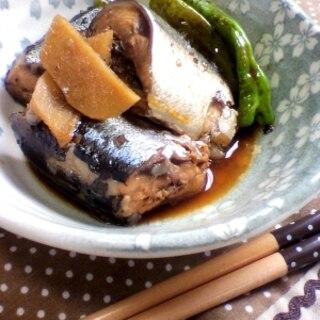 ハチミツ入り♪秋刀魚の煮物