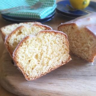 国産レモンで作る☆簡単レモンケーキ
