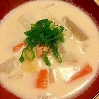 温まります☆粕汁☆2014初冬