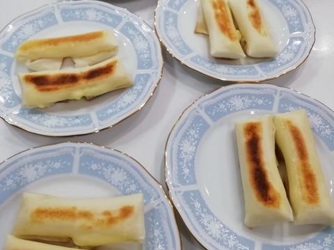 うまーい!ボリューム満点!チーズ春巻き