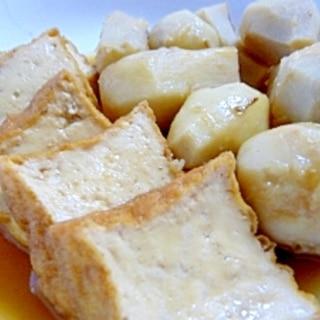 厚揚げと里芋★おいしい煮物