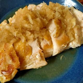 30分チキン♡鶏胸肉のおろしポン酢