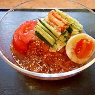 超簡単♪韓国冷麺