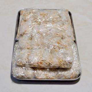 カキフライの冷凍保存